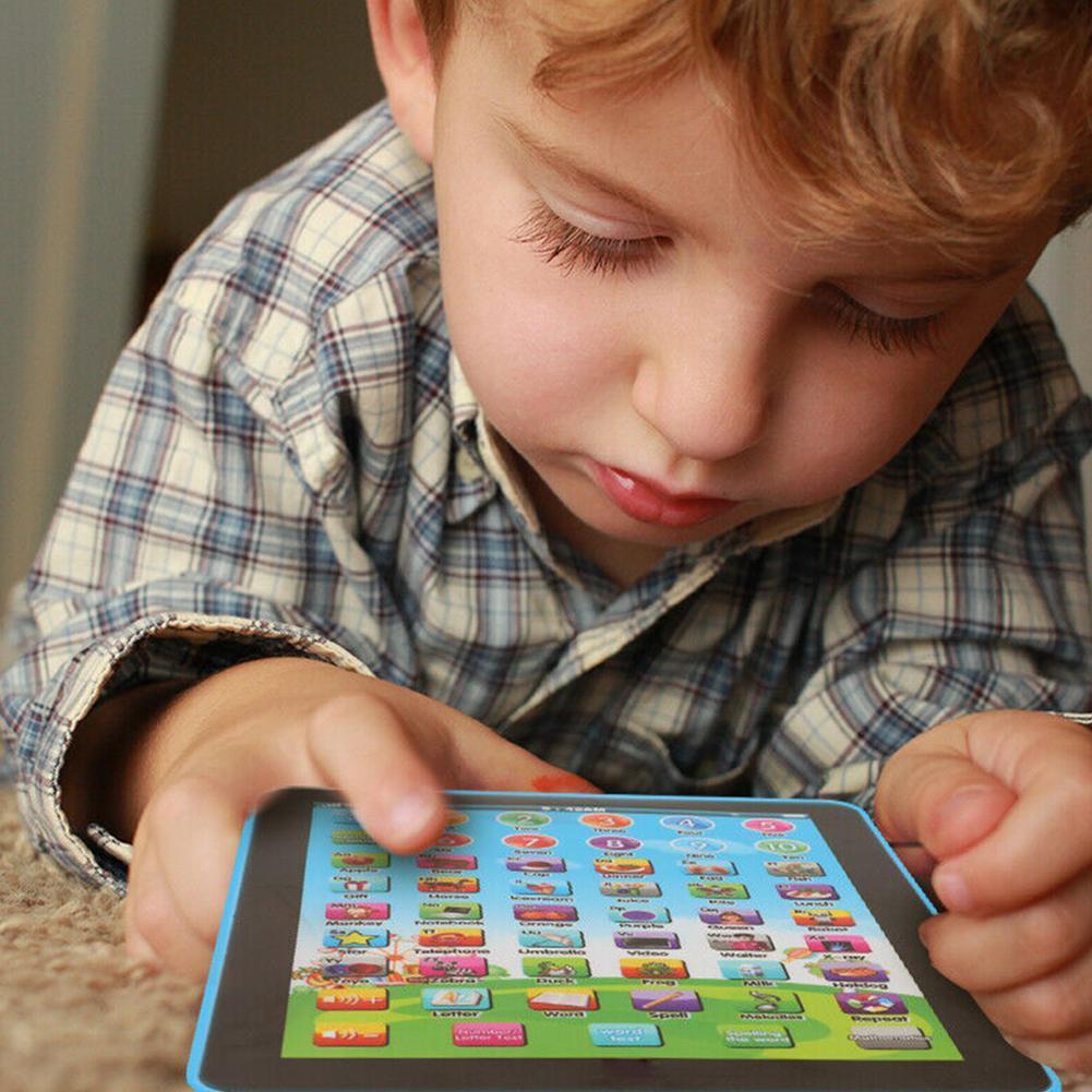 Mini Baby Kind Laptop Tablette Pad Computer Kind Lernspiel Spielzeug M4Y5