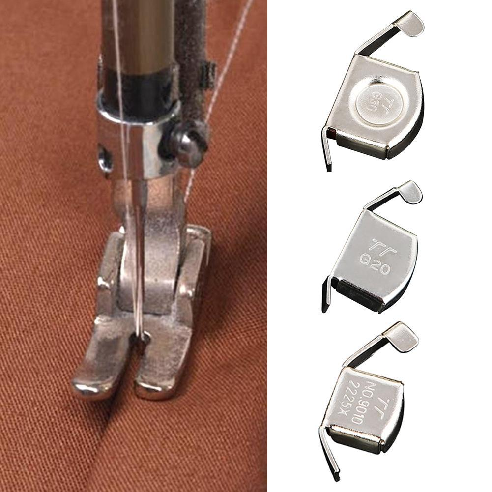 Silver Metal Seam Guide Gauge Sewing Machine Attachment Fabric Cloth