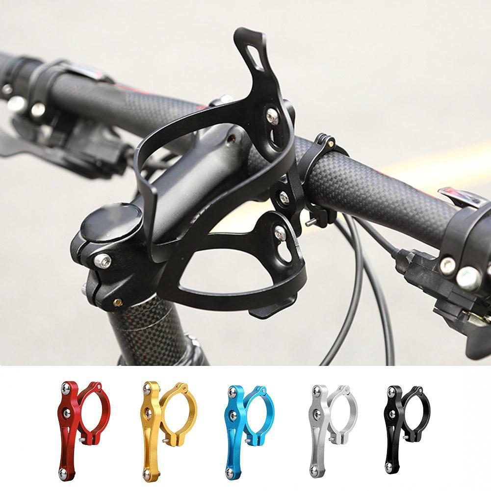 Aluminum Alloy Bike Bicycle Cycling Drink Water Bottle Rack Cages Holder Br P6M7