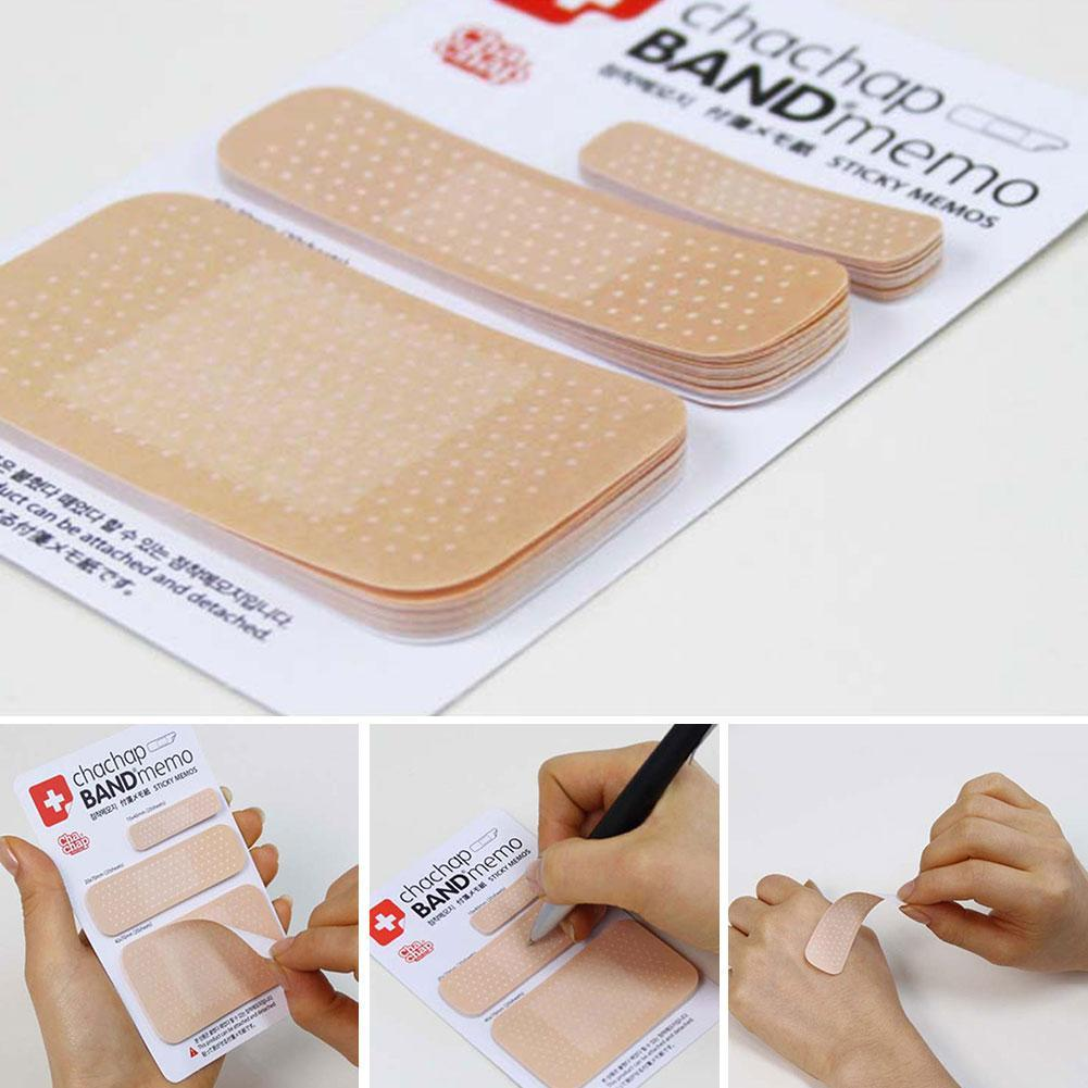 Memo Pad Band-aid Design Note Paper Diary Notes Bookmarker Scrapbook C9T4