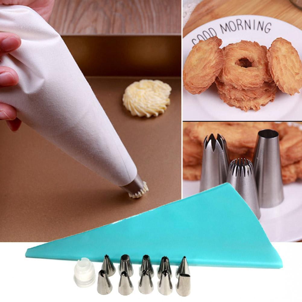 EVA Cake Piping Bag Icing Cream Squeezed Pastry Cookies Decorating Kitchen Tools