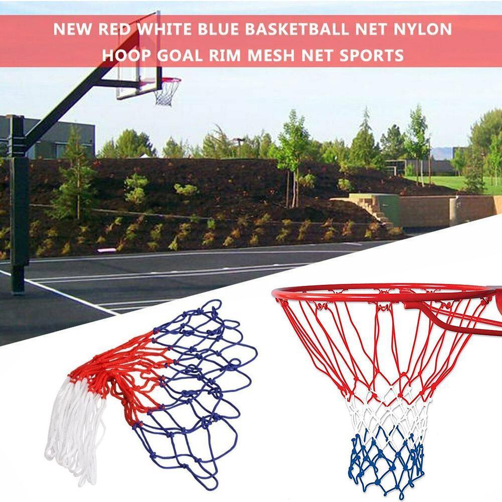 Universal Basketball Net Nylon All Weather Hoop Goal Standard Rim Mesh Outdoor