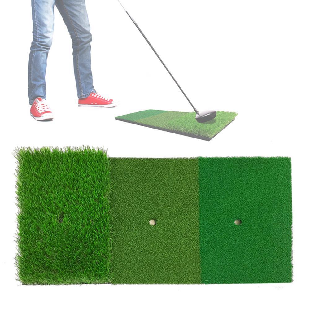 Golf Training Mat Home Backyard Driving Range Swing
