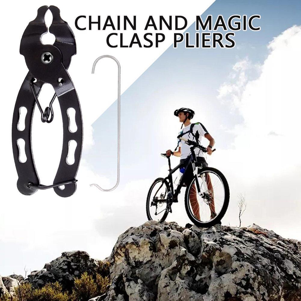 Bicycle Mini Chain Quick Pliers Link Clamp MTB Bike Tool Buckle A Removal S4K2
