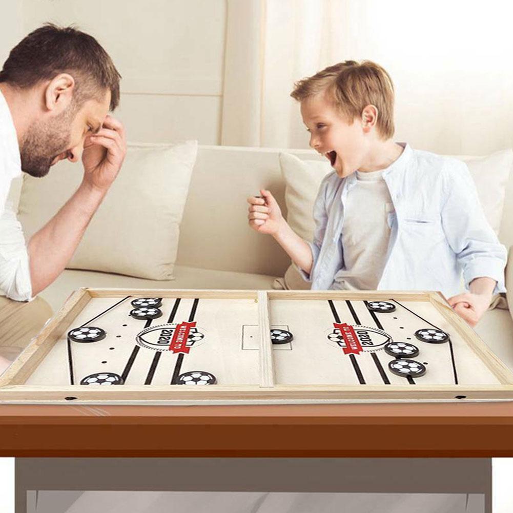 Bouncing Chess Hockey Game Board Foosball winner Catapult for passtime Hot