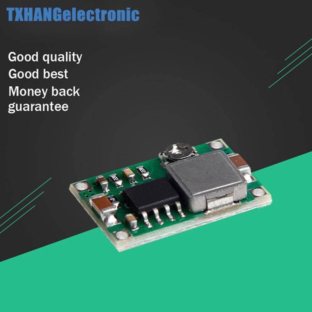 2pcs Mini360 3A DC Voltage Step Down Power Converter Module Buck 5V 12V J7S3