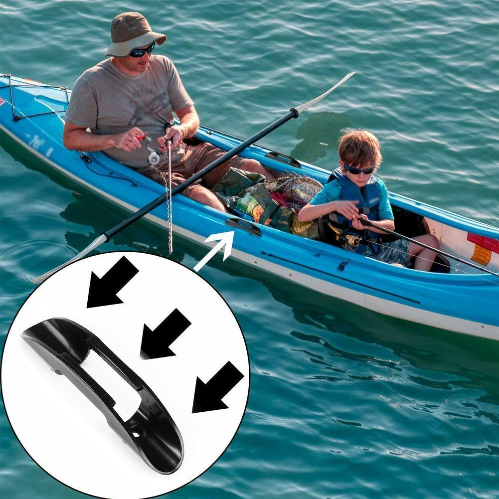 2x Kayak Marine Boat Paddle Clip Holder Watercraft Plastic Accessories