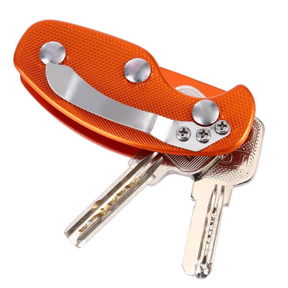 Details about  /Outdoor EDC Gear Key Keychain Holder Folder Clamp Pocket Clip Kit Bar Gadget