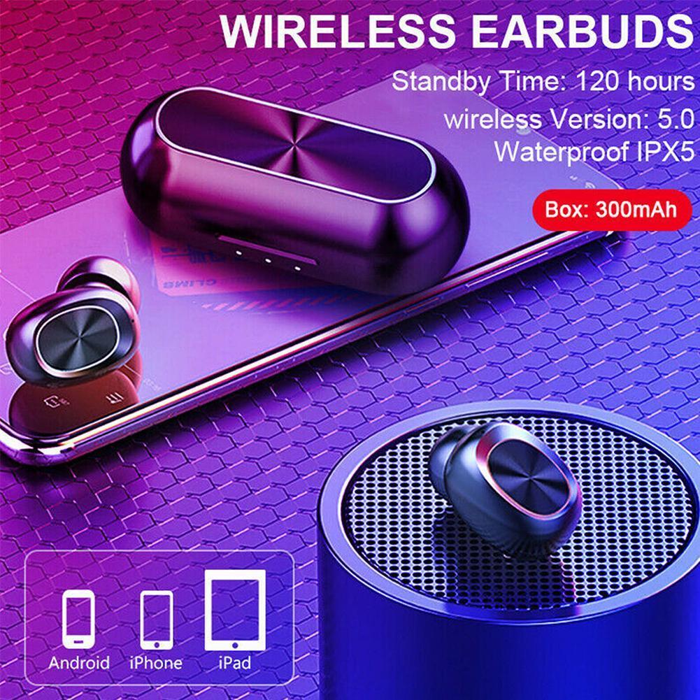Bluetooth 5 0 Headset Tws Wireless Earphones Mini Earbuds Ipx6 Stereo Headphone 6957999781240 Ebay