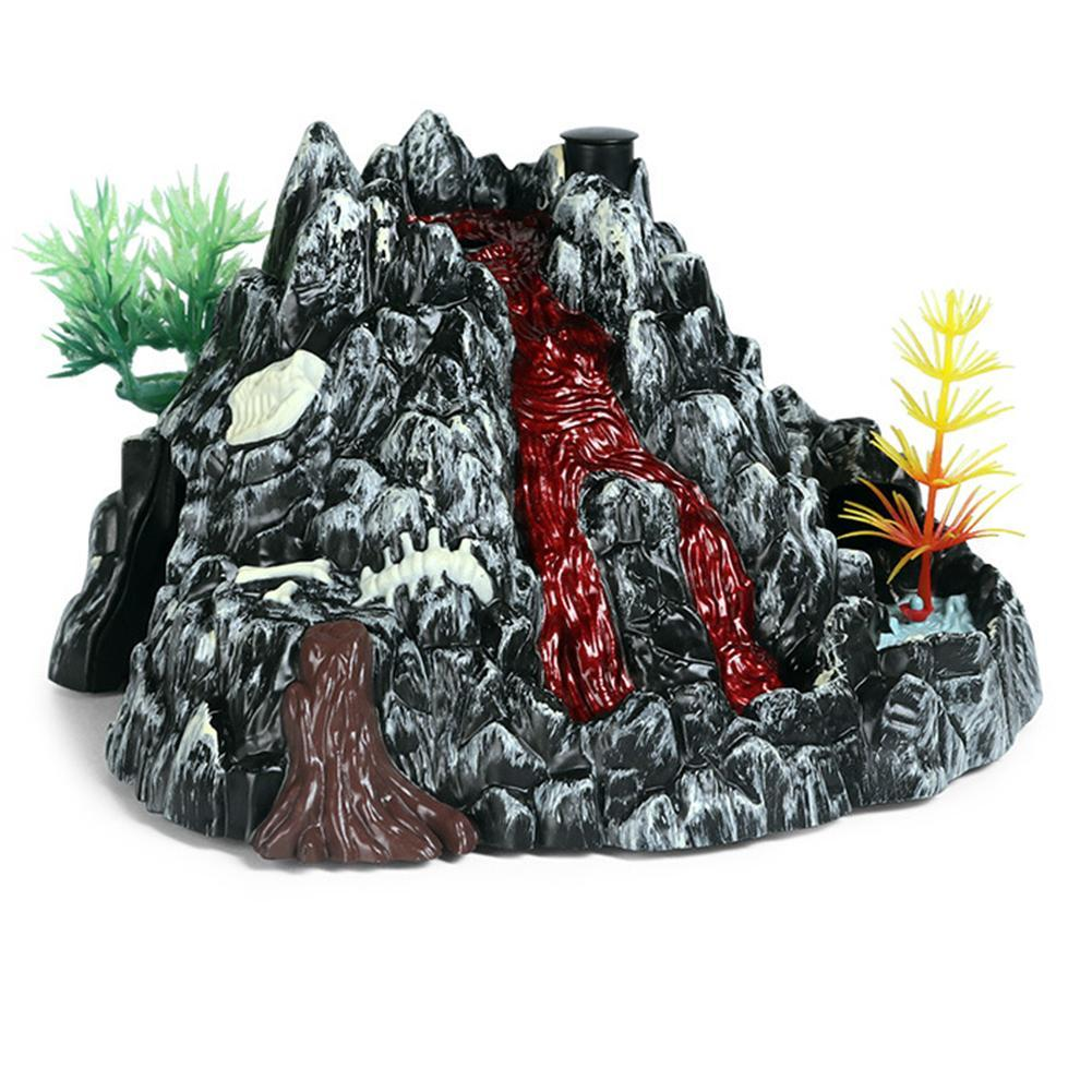 Spray Volcano Model With Light Simulation Scene Experiment Action Toy G6S5
