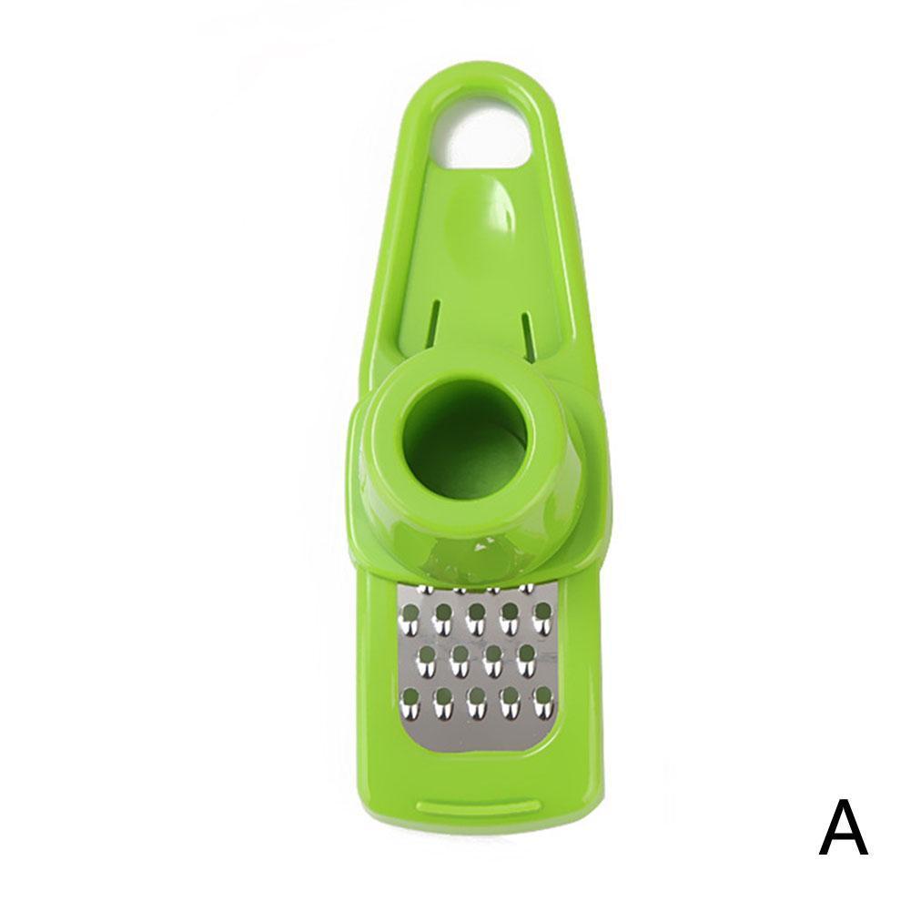 Ginger Grater Crusher Slicer Cutter Grinder Chopper Garlic Mincer Press Q6P7