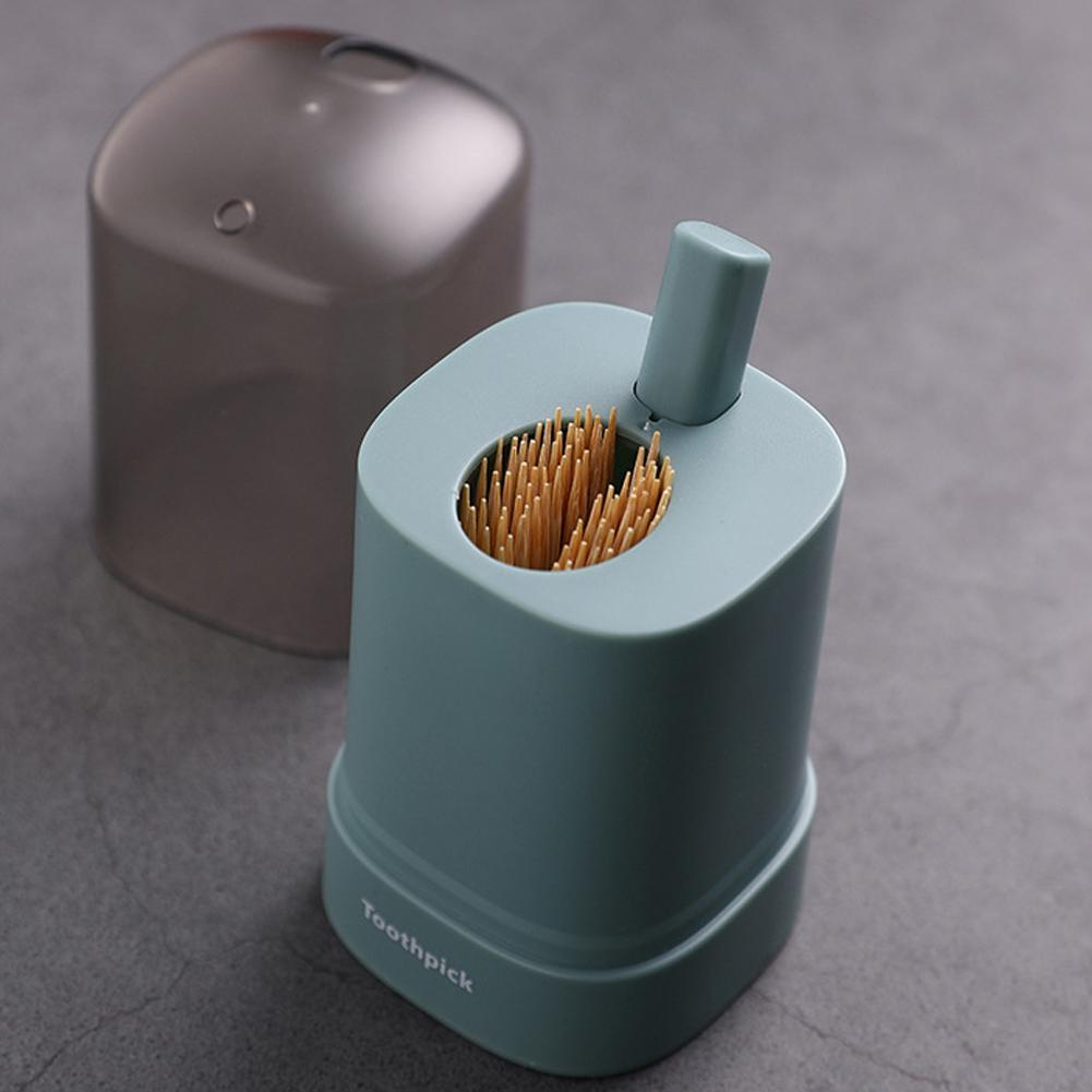 Automatic Push-type Toothpick Holder Box Detachable Tooth Pick Storage Dispenser