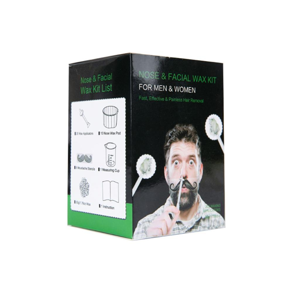 Nose Ear Hair Removal Wax Kit Sticks Easy Mens Nasal Waxing Strip Remover Ebay