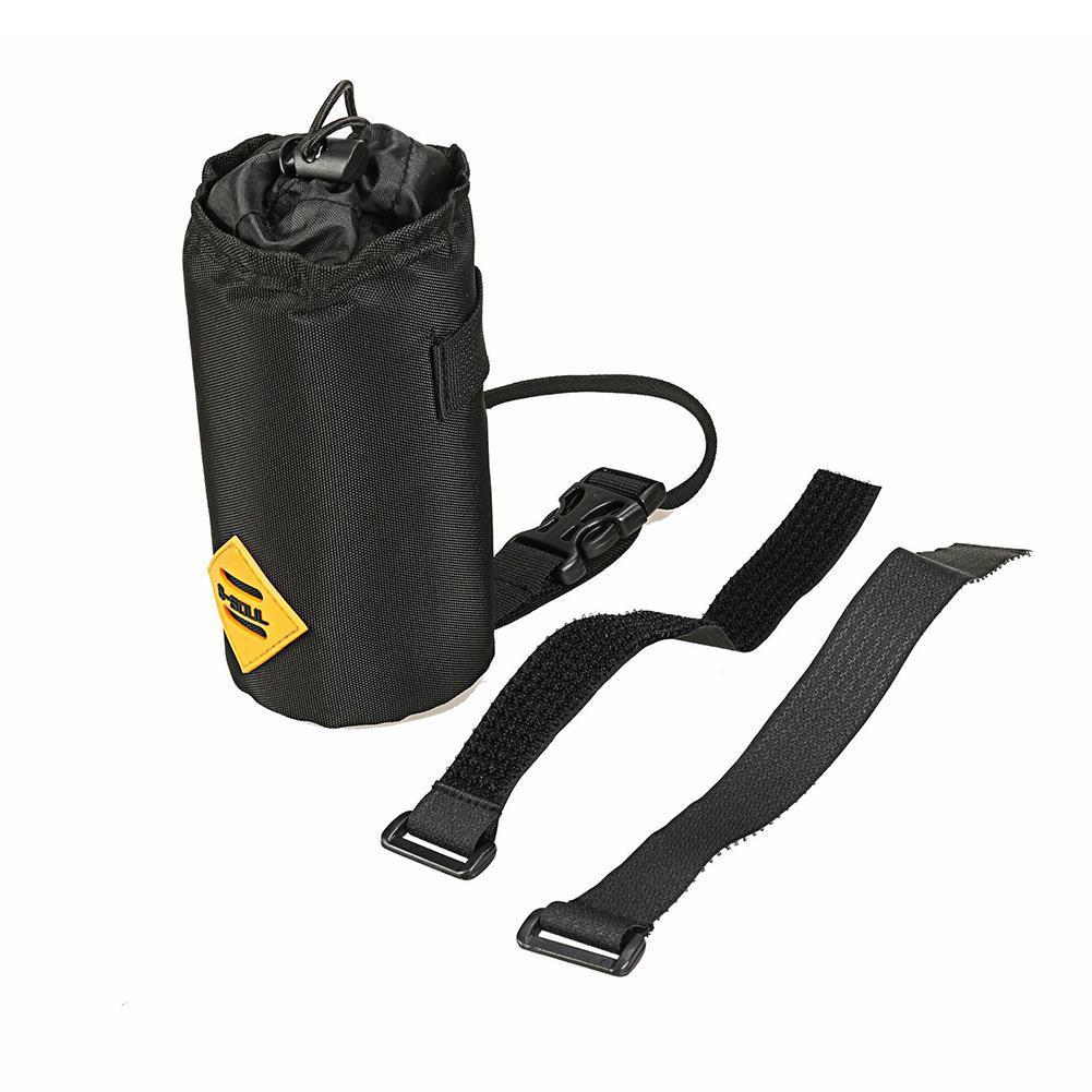 Cycling Handlebar Water Drink Bottle Holder Bike Stem Bag Kettle Carrier Pouch