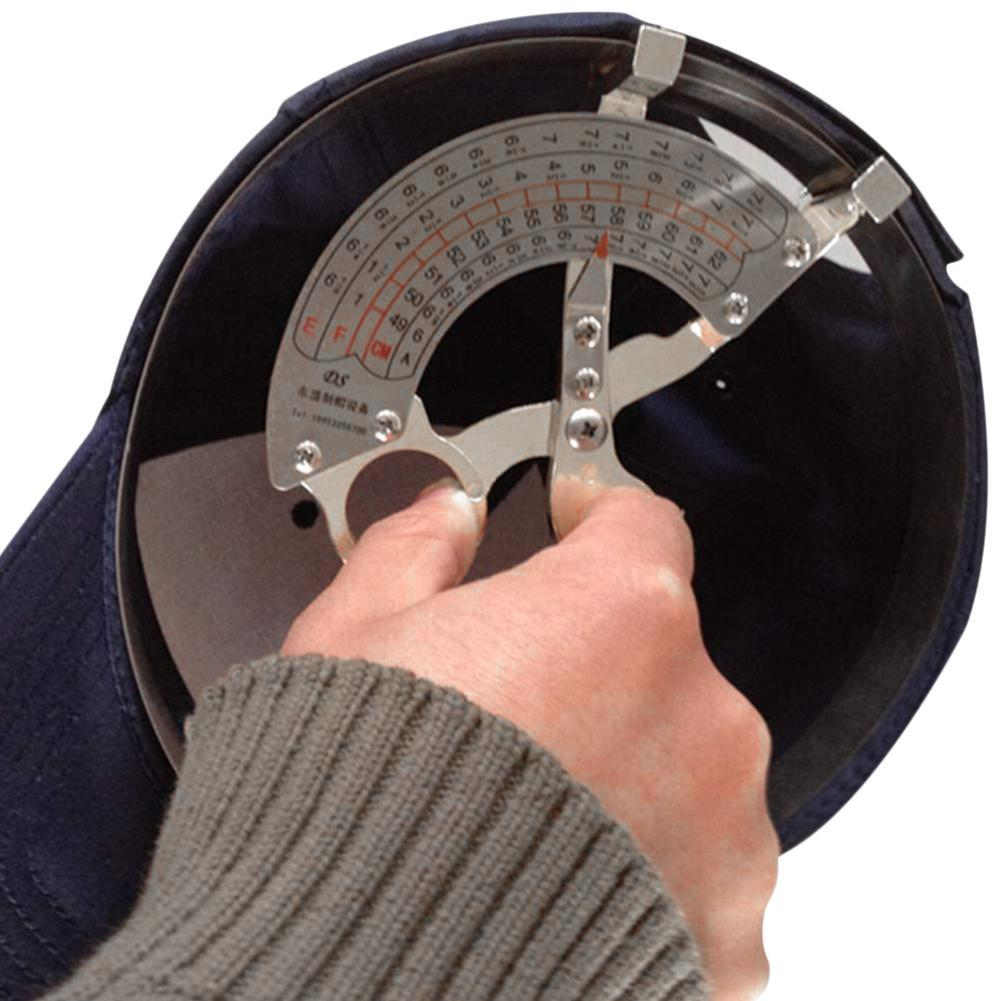 Hat Measuring Tools Size Measure Ruler Stainless Steel Scale Ruler Sizer E8H3