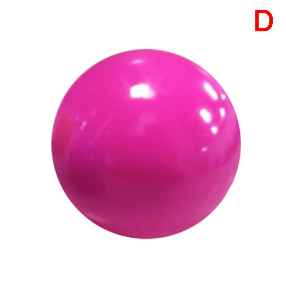 Sticky Ball Sports Indoor Toy Decompression Ball Stickable Wall Ball Ceiling Ball Wall Squash Luminous Zhousir Sticky Target Ball