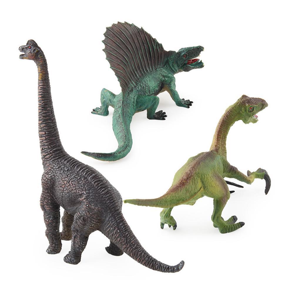 Kids Figures E9E0 Vinyl Animals Model Home Set Ocean Gift Wild Toys Dinosaur