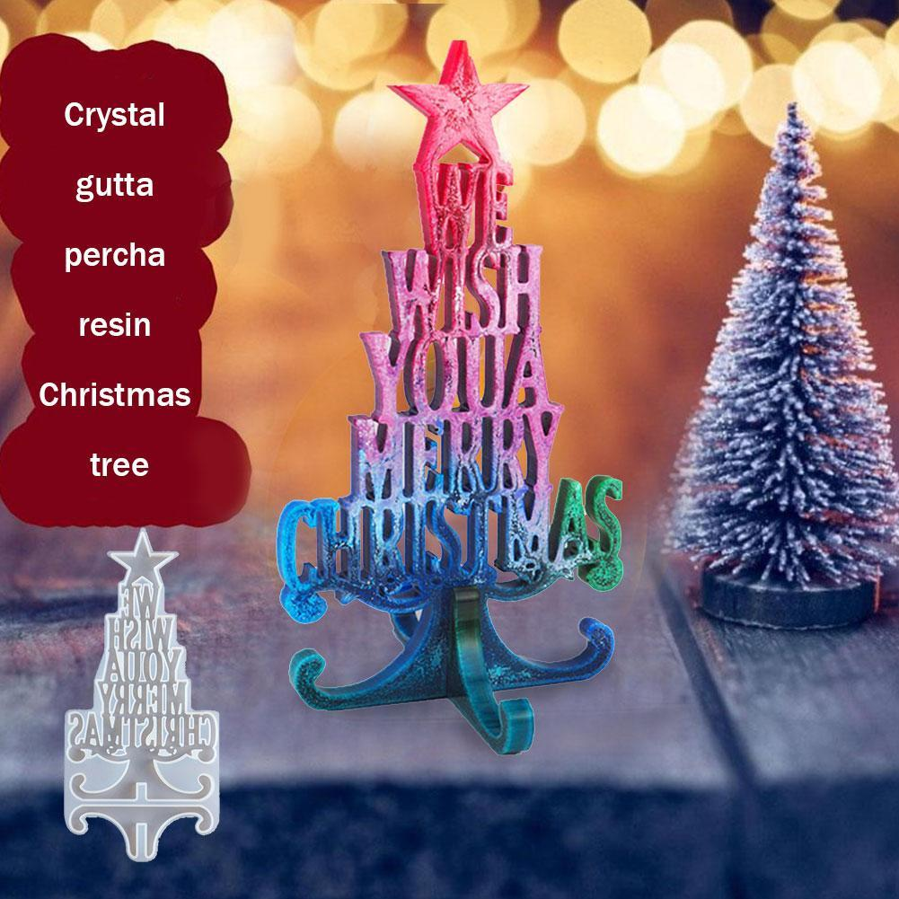 Christmas Decor Wish Silicone Jewelry Casting Mold Resin Epoxy Mould Craft x 1