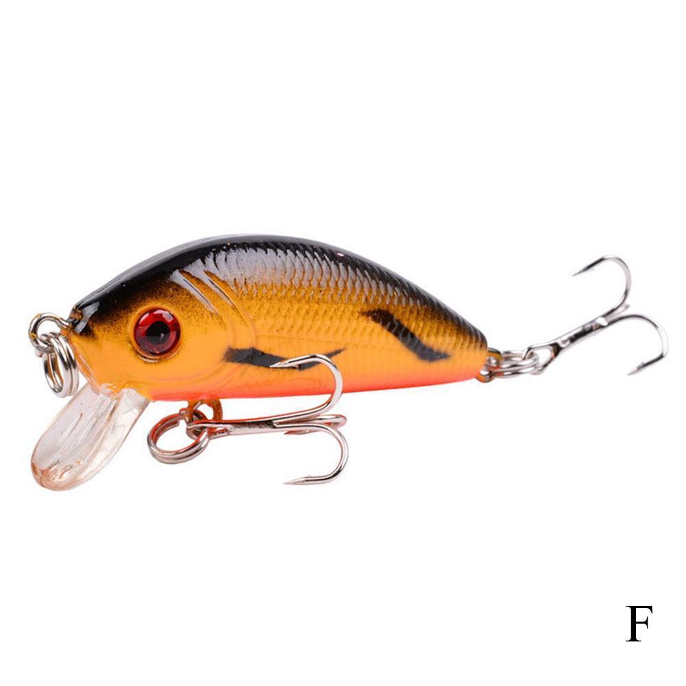 10cm Sinking Bionic Fishing Lures Hook Fake Crank bait Artificial Bait Hard T5D1