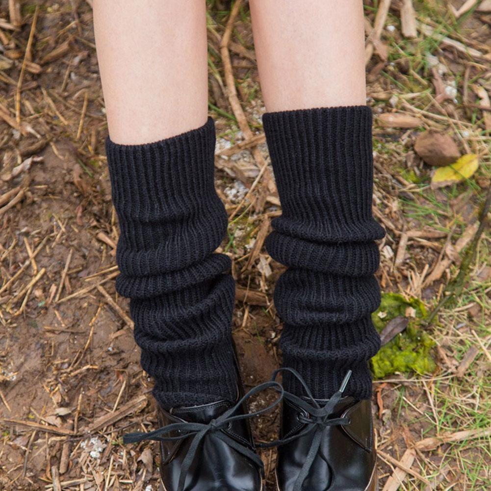 LEG WARMERS FOOTLESS SLOUCH SOCKS GIRLS DANCE 80/'s Retro FANCY DRESS HEN