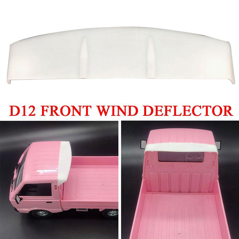 For WPL D12 RC Truck DIY Modified Decoration Car Front Wind Deflector Baffle