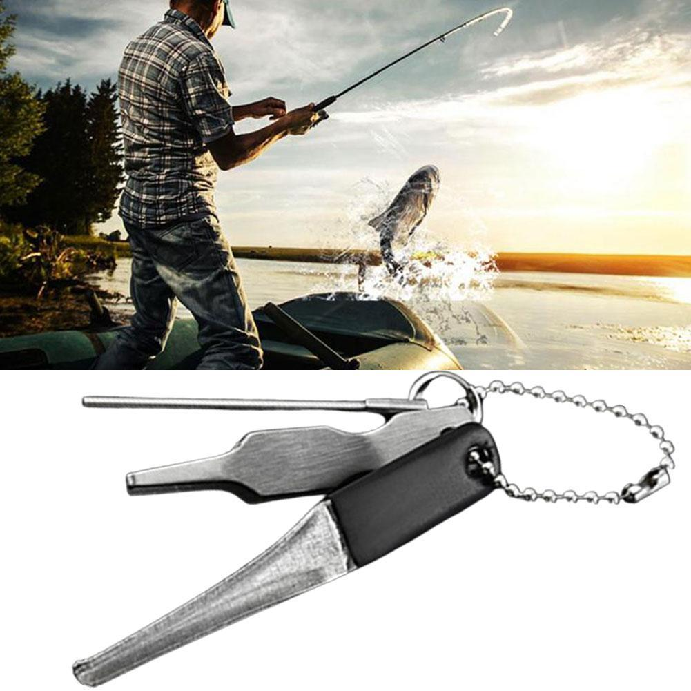 1pc ABS Fishing Quick Knot Tool Fast Tie Nail Knotter Cutter Fishing Device
